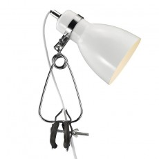 Nordlux Cyclone Clamp Spotlight - White