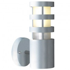 Nordlux Darwin Straight Outdoor Wall Light - Aluminium