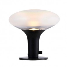 DFTP Nordlux Dee 2.0 Glass Table Lamp Black 84435003