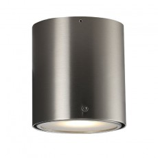 Nordlux IP S4 Wall & Ceiling Light - Brushed Steel