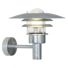 Nordlux Lonstrup 32 Outdoor Wall Light - Galvanised