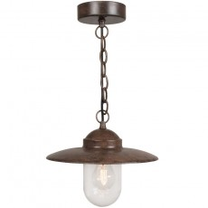 Nordlux Luxembourg Outdoor Pendant Light - Rusty