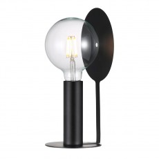 Nordlux Dean Disc Table Lamp Black 46625003