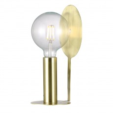 Nordlux Dean Disc Table Lamp Brass 46625025