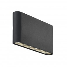 Nordlux Kinver Outdoor LED Wall Light - Black