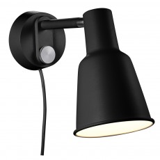 Nordlux Patton Wall Light - Black