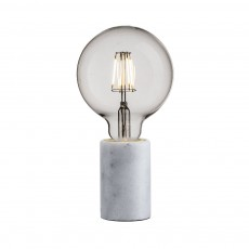 Nordlux Siv Marble Table Lamp - White