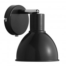 Nordlux Pop Retro Wall Light - Black