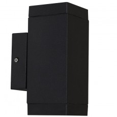 Nordlux Qubo Double Outdoor Wall Light - Black