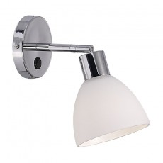 Nordlux Ray E14 Wall Spotlight - Chrome