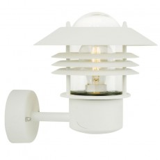 Nordlux Vejers Up Outdoor Wall Light - White