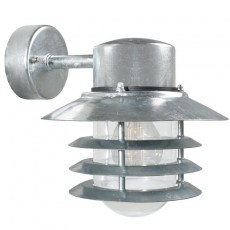 Nordlux Vejers Outdoor Wall Light Down - Galvanised