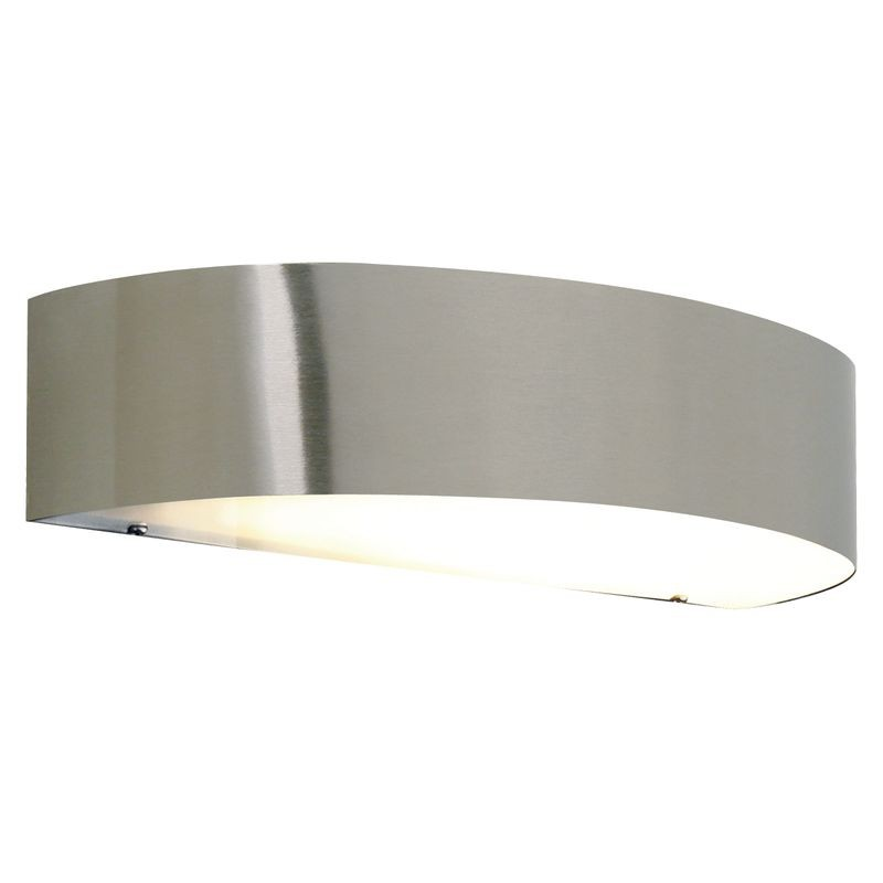 Nordlux Arc 10w Outdoor Wall Light Stainless Steel