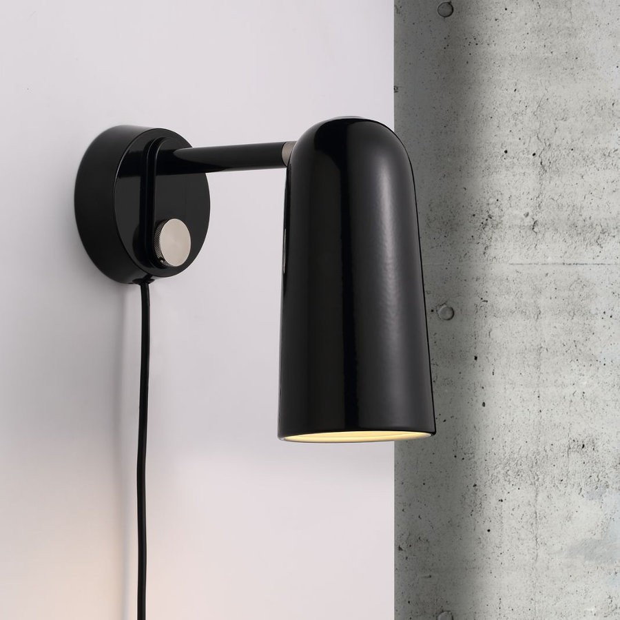 Dftp Nordlux Tippy Wall Light Black