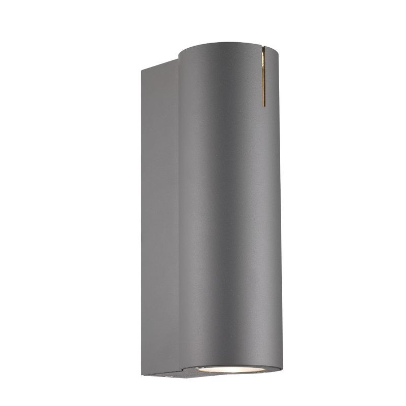 Nordlux Dream 1 GU10 Outdoor Wall Light - Anthracite