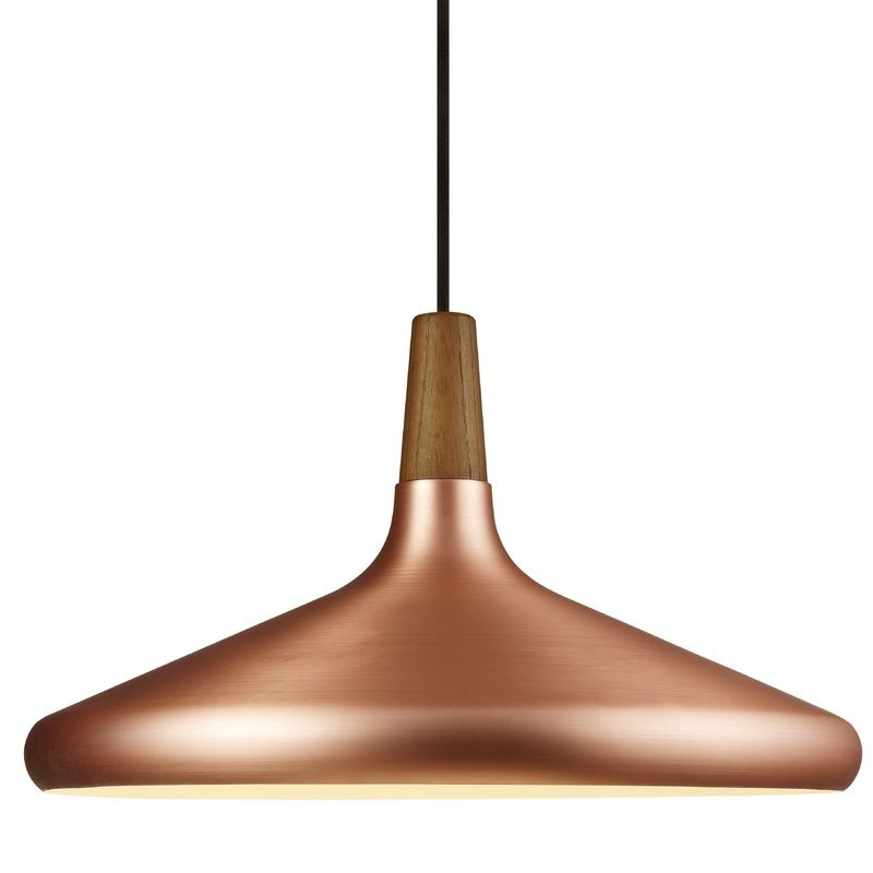 Nordlux Float 39 Ceiling Pendant Light Brushed Copper