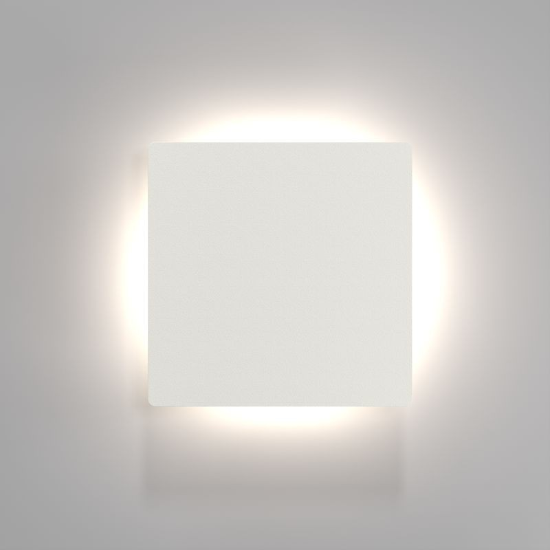 Nordlux Quadro Disc Led Wall Light White