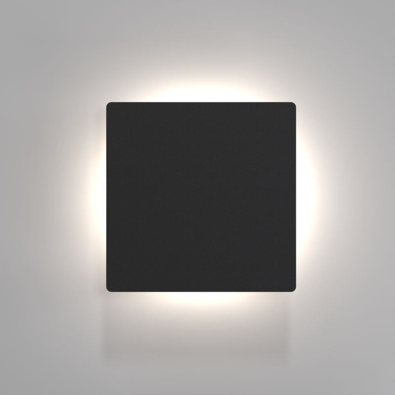 Nordlux Quadro Disc Led Wall Light Black