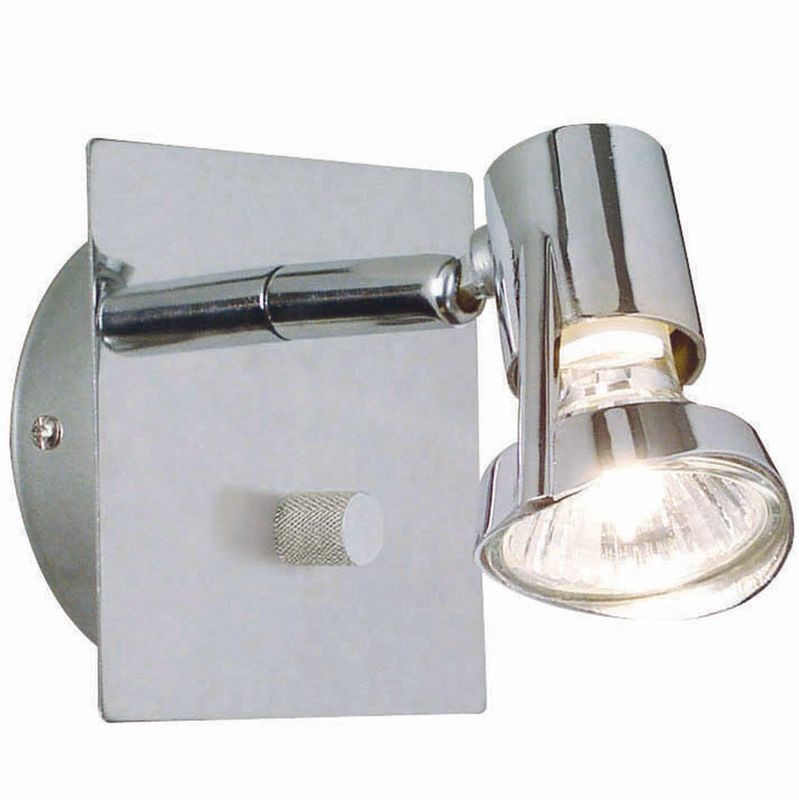 Wall Lamps With Dimmers : Nordlux Mainroad Adjustable Wall Light With Dimmer - Chrome