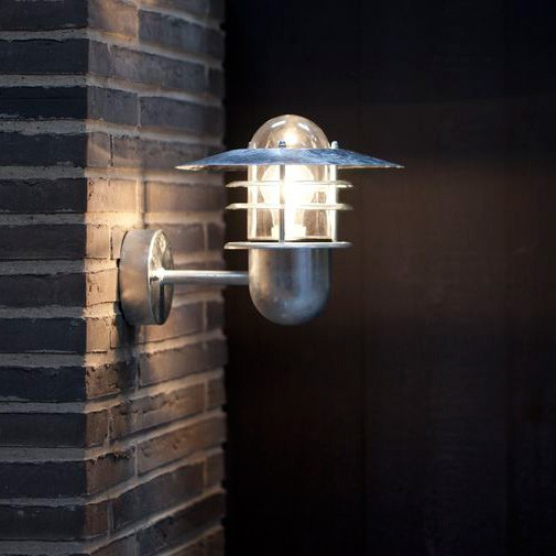 Nordlux Agger Outdoor Wall Light Galvanised