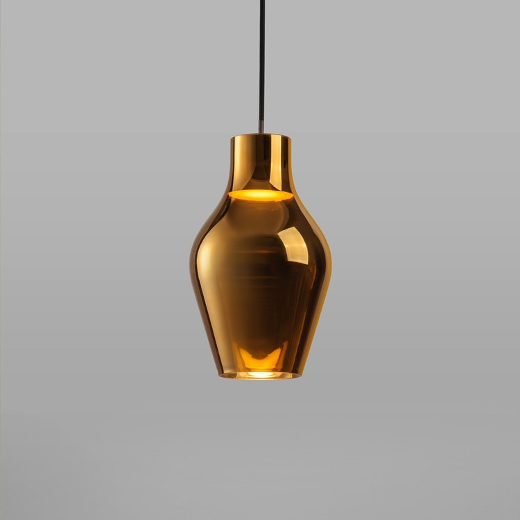 Home / DFTP Nordlux Blow 17 Ceiling Pendant Light - Gold