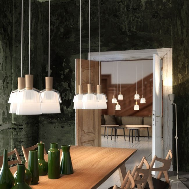 Dftp Nordlux Calico Ceiling Pendant Light Glass