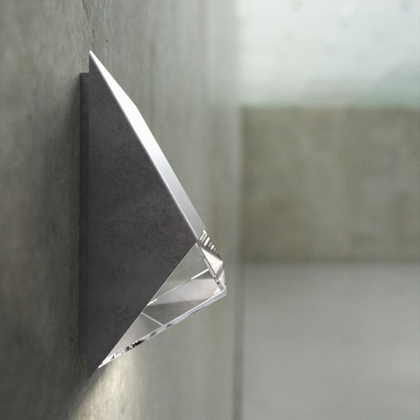 Nordlux Edge 100 Outdoor Wall Light Galvanised