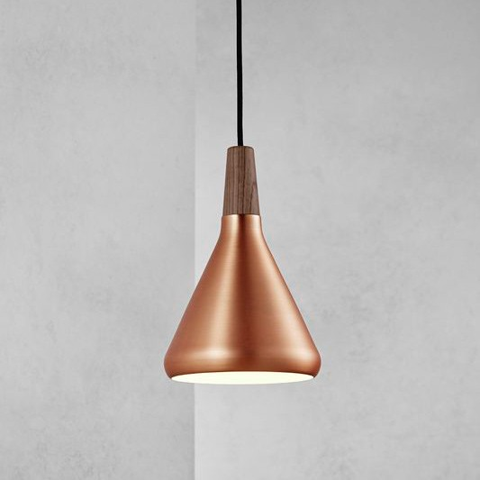 Nordlux Float 18 Ceiling Pendant Light Brushed Copper