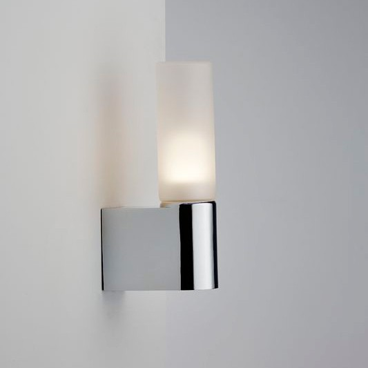 Chrome Flush Wall Lights : Nordlux IP S1 Semi-Flush Wall Light - Chrome