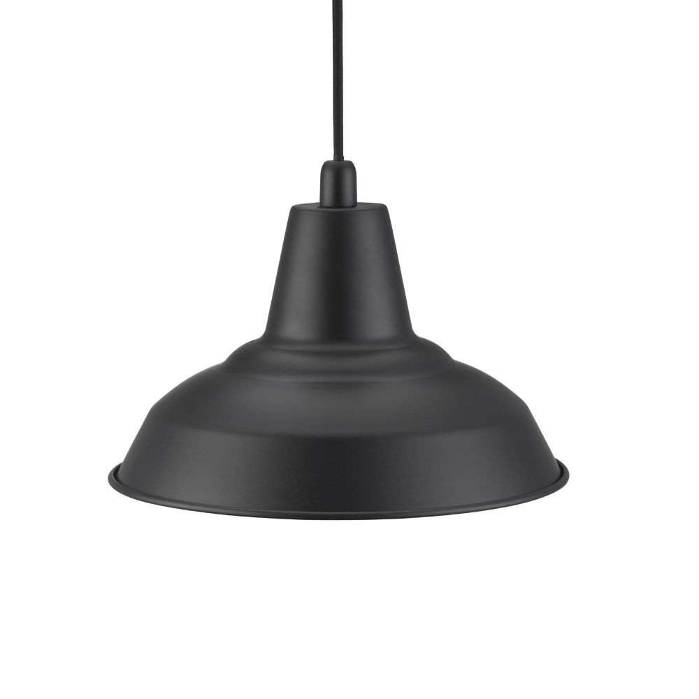 Nordlux Lyne Metal Ceiling Pendant Light Black