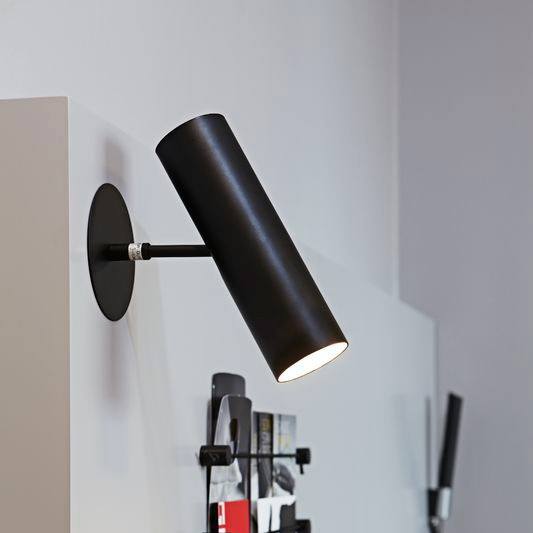 Nordlux Mib 6 Gu10 Wall Light Black
