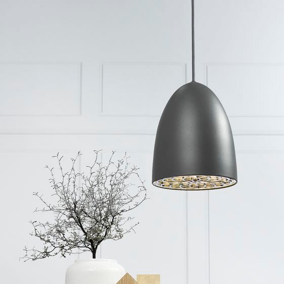 Ceiling Lights Grey : Nordlux nexus ceiling pendant light grey