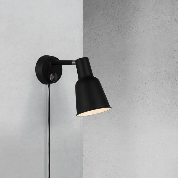 Dftp nordlux patton wall light black nordlux patton wall light black nordlux patton wall interior black mozeypictures Gallery