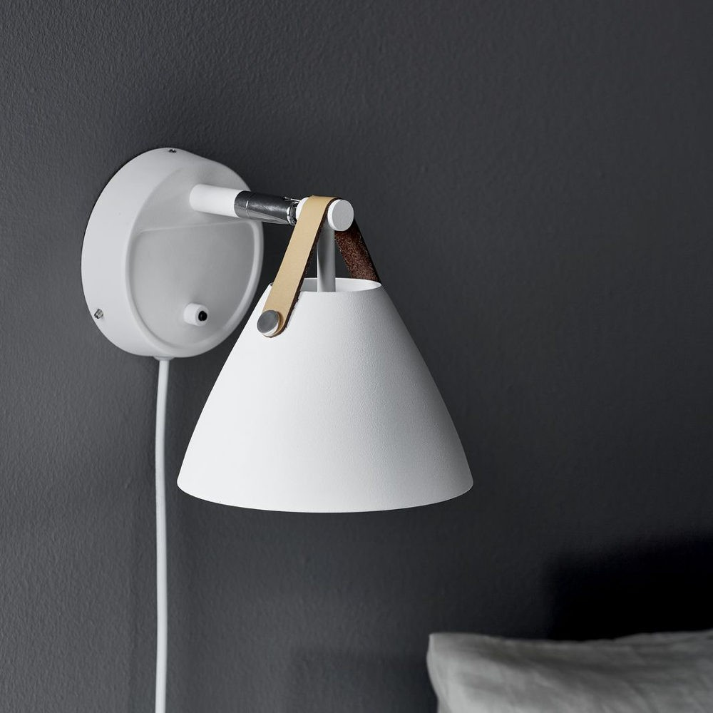 Dftp Nordlux Strap 15 Wall Light White