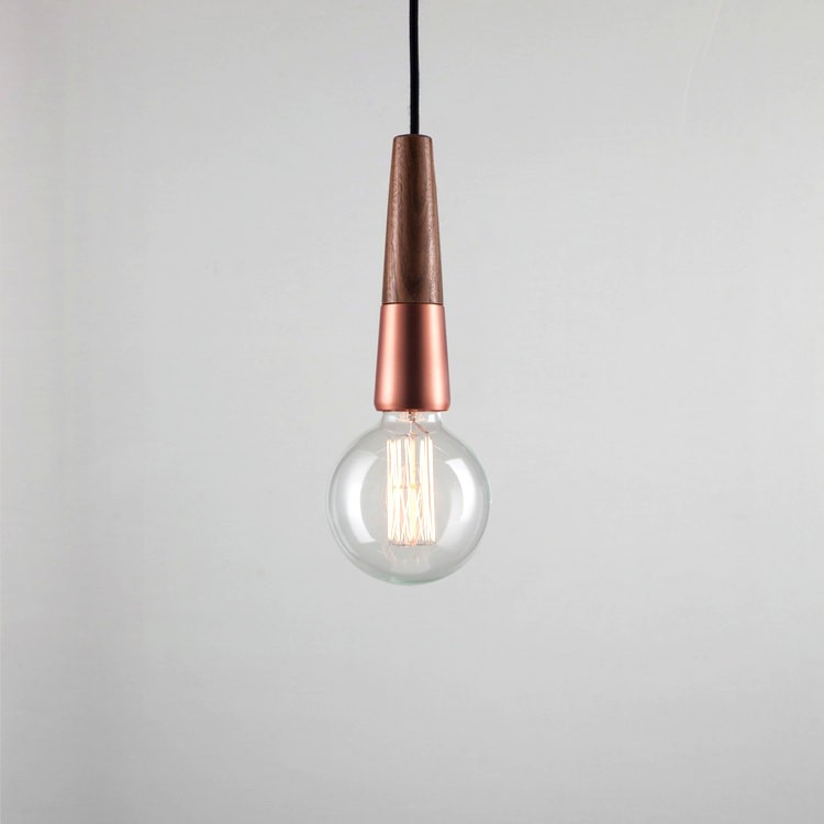 Dftp Nordlux Stripped Ceiling Suspension Light Copper