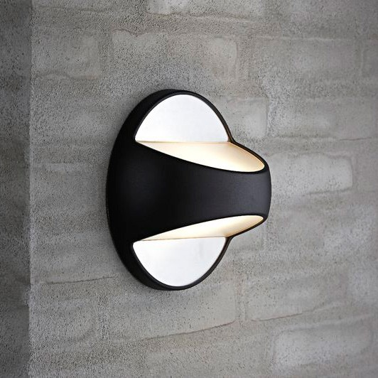Nordlux Twin E27 Outdoor Wall Light - Black
