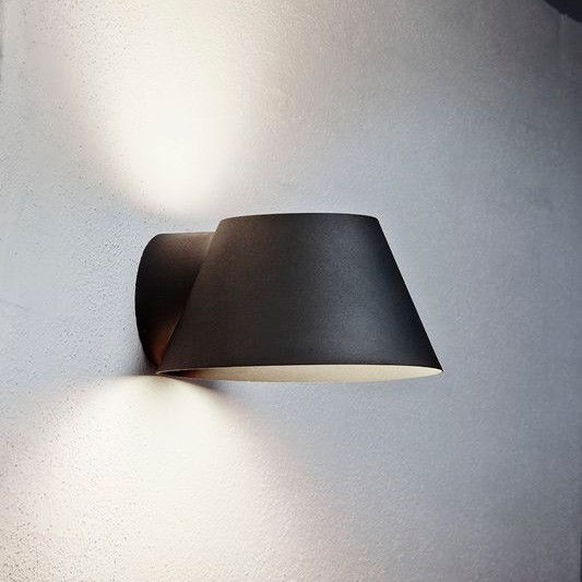 Nordlux View E27 Outdoor Wall Light Black