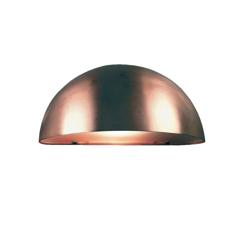 Nordlux Scorpius E14 Outdoor Wall Light Copper